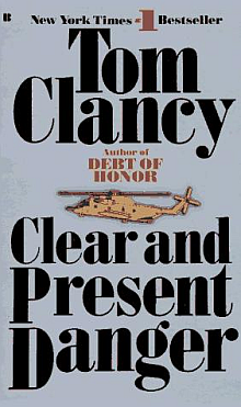Tom Clacny's Clear and Present Danger Book Review