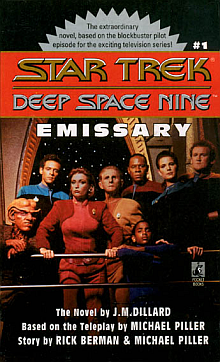 Star Trek DS9 Novels:  The Emmissary Book Review