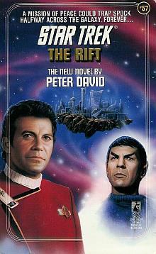 Star Trek TOS Novels: The Rift Book Review