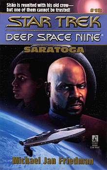 Star Trek DS9 Novels: Saratoga Book Review