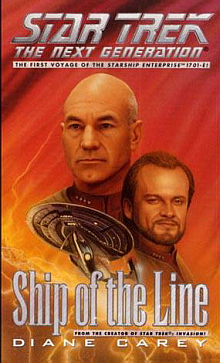 Star Trek TNG Novels: Ship of the Line Book Review